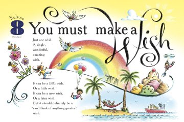 Featured image spread of Ten Rules of the Birthday Wish