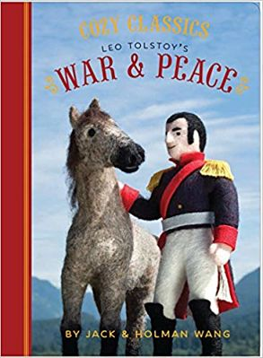 Cover of Cozy Classics War and Peace