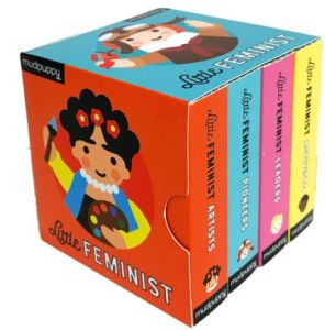 The Little Feminist Board Book set