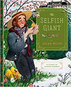 Cover of The Selfish Giant by Oscar Wilde, illustrated by Jeanne Bowman
