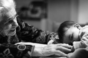 A grandmother and grandchild, featured image