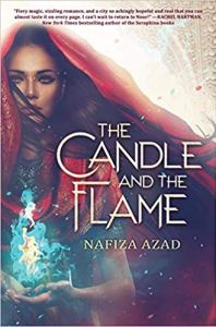 Cover of The Candle and the Flame by Azad