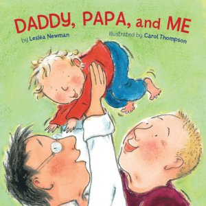 Cover of Daddy, Papa, and Me