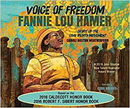 Cover of Voice of Freedom: Fannie Lou Hammer