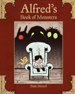 Cover of Alfred's Book of Monsters by Steed