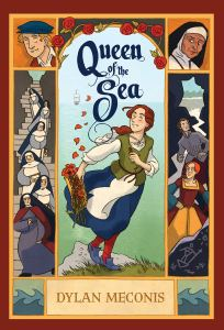 Cover of Queen of the Sea by Meconis