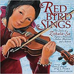 Cover of Red Bird Sings by Capaldi
