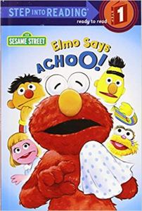 Cover of Elmo says Achoo!