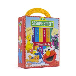 Sesame Street board book set
