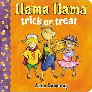 Cover of Llama Llama Trick or Treat by Dewdney