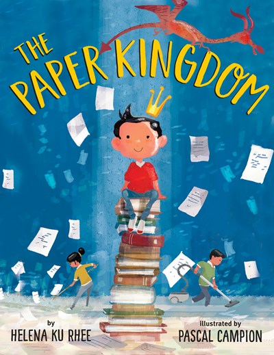 book cover of the paper kingdom