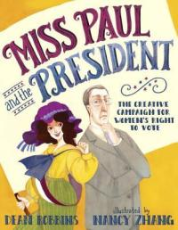 cover of miss paul and the president