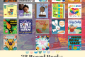 Books covers of the 18 board books from 2021 we recommend at Baby Librarians