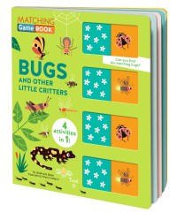 Book cover of Matching Game Book: Bugs