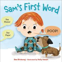 Cover of Sam's first word