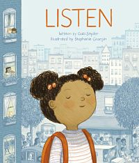 Book cover of Listen by Snyder