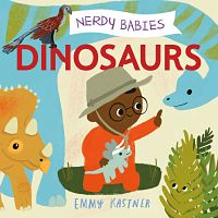 Book cover of Nerdy Babie: Dinosaurs
