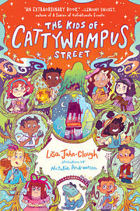 Book cover of The Kids of Cattywampus Street by Jahn-Clough