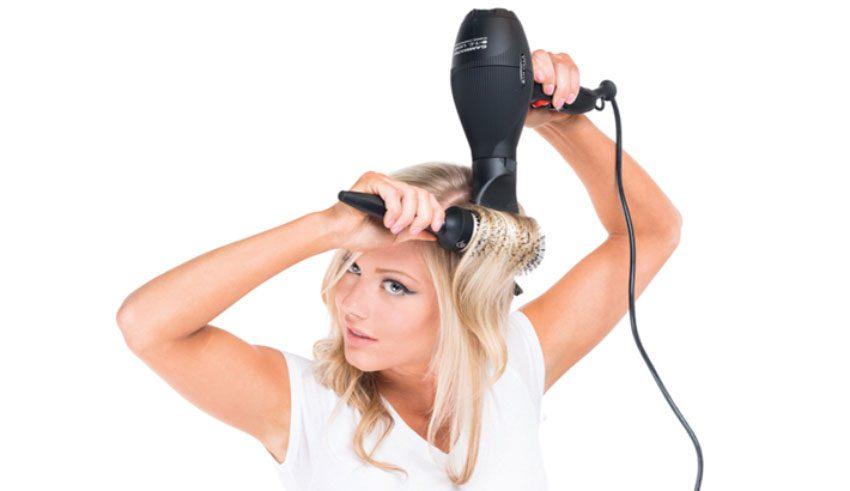طريقة استشوار الشعر