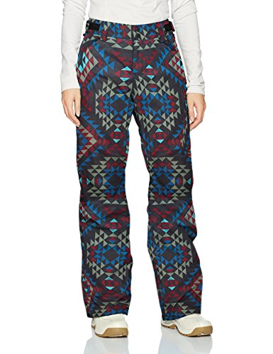 Billabong Women's Yana Snow Pant, Navajo Black, M