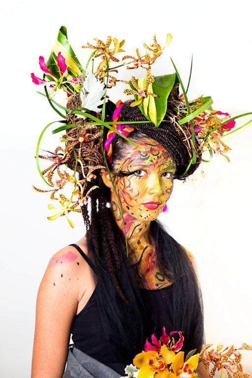 Human Flower Project and Babylon Floral at Denver Botanic Gardens! (4/5)