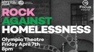 rock against homelessness event
