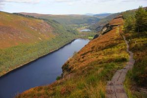Glendalough Mountains and Lake