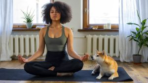 Meditation practice at home