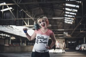 Cosplay of Harley Quinn in Suicide Squad (Fandoms and Online Communities)