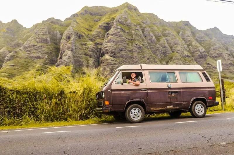 parking van