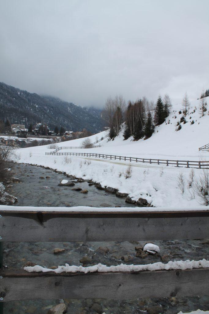 Buggy Friendly Winter Walk in St Anton am Arlberg