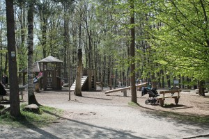 Visiting Wildpark Pforzheim in Germany with a Toddler