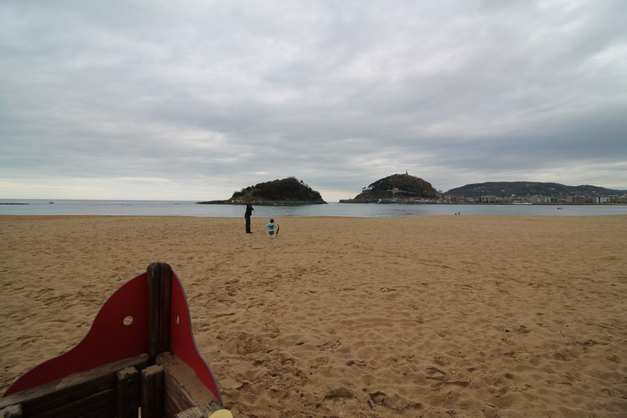 Day Out in San Sebastian with a Toddler