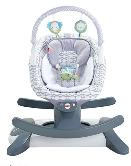 baby swing vibrating chair combo table top high reviews 3 best rocker experts guides 2019 seat