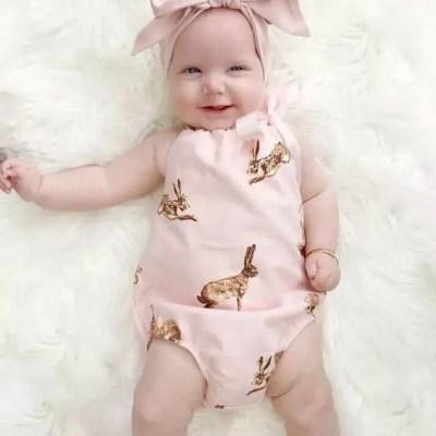 Outfit rosado con cintillo