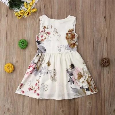 Vestido niña primavera