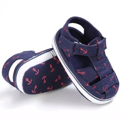 Zapatos bebe ancla