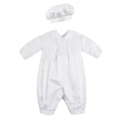 Conjunto bautizo bebe blanco