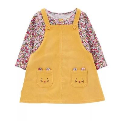 Vestido carters Amarrillo