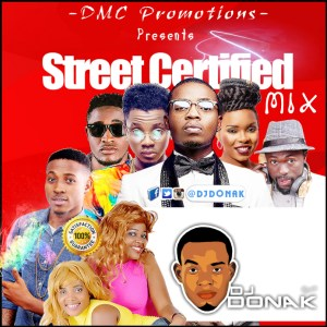DJ DONAK STREET CERTIFIED MIX ART
