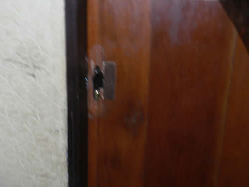 Ekere-saga-broken-bedroom-door