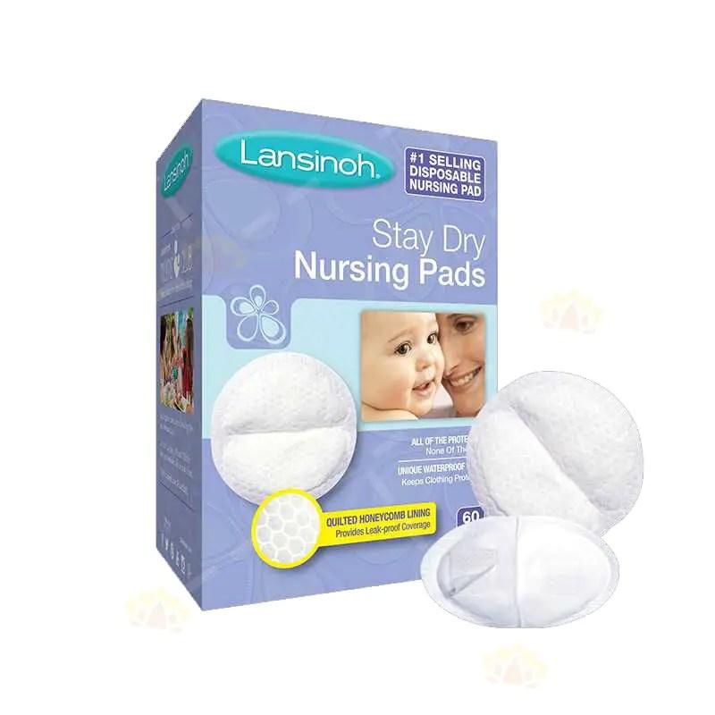 Lansinoh 超薄持久乾爽型防溢 乳墊 60個裝 | Lansinoh | BabyMall