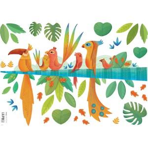 planche-de-stickers-oiseaux-tropicaux-1
