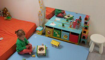 Comment créer le premier coin jeux de bébé -