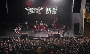 BABYMETAL台湾台北でライブ