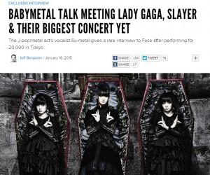 babymetalインタビュー