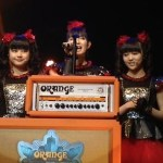 BABYMETAL『Metal Hammer Golden Gods Awards 2015』Breakthrough受賞!動画アリ