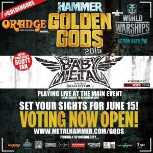 babymetal metal hammer goloden gods
