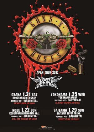 guns and roses babymetal