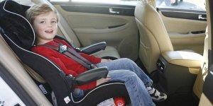 convertible car seat in forward facing